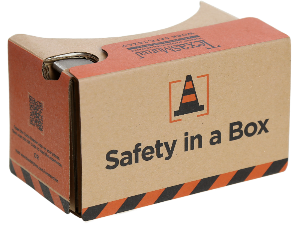 Safety in a Box cardboard viewer