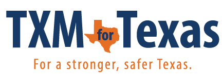 TXM for Texas logo