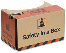 image of safety in a box package